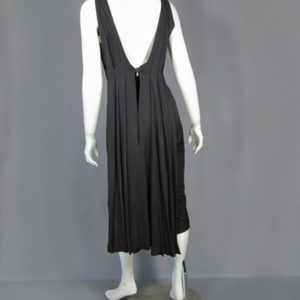 Ceil Chapman black dress