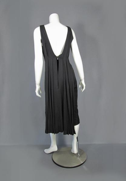 Ceil Chapman black dress