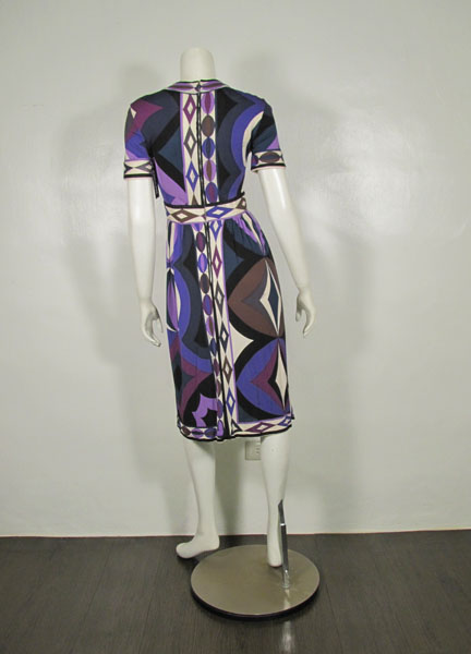 Emilio Pucci vintage one piece dress