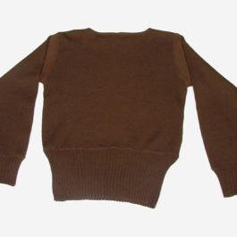 1930年代メンズセーター後ろ