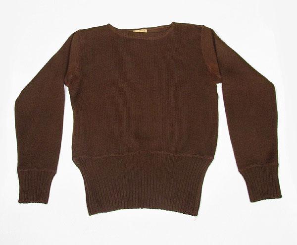 1930年代メンズセーター前