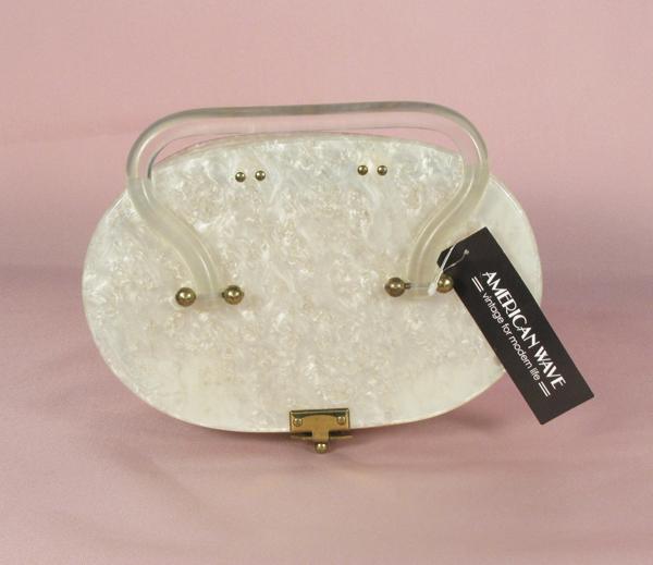 1950's lucite handbag ルーサイトハンドバッグ