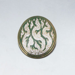 antique brooch front