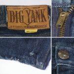 ビンテージ50's-60's BIG YANK デニムジーンズ