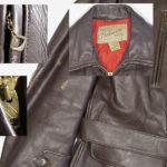 1950'sHERCULESレザージャケット◆ステアハイドベルト付ビンテージ