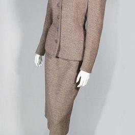1940年代1950年代ビンテージウール・レディースツーピーススーツ