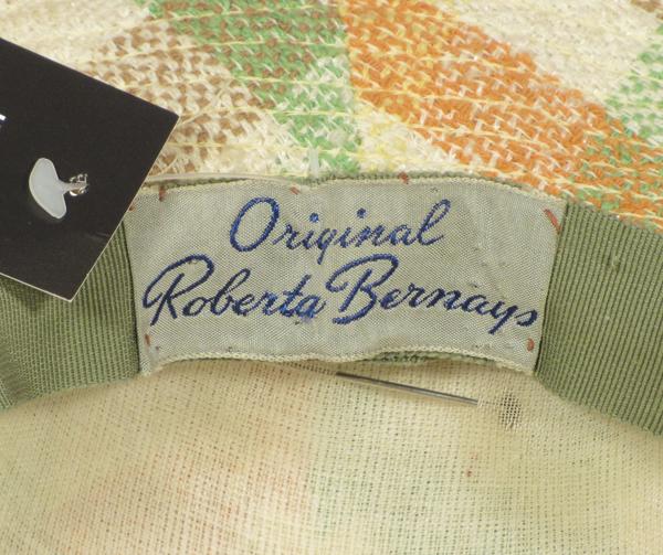 1940年代ハットとバッグのセット