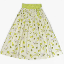 1950's 花柄スカート