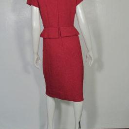 ビンテージ赤シースワンピース1950's1960's