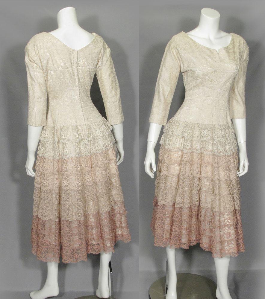 1950年代パーティーワンピースドレス