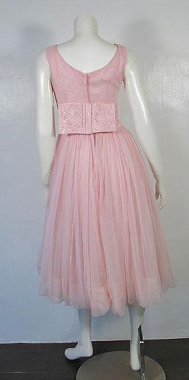 ビンテージピンクドレス☆50's60's☆パーティー