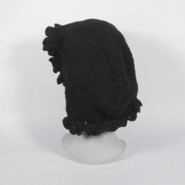 ビクトリアンアンティーク★ウールボンネット19世紀帽子