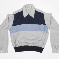 1950'sレーヨンギャバジンシャツ、ビンテージロカビリー