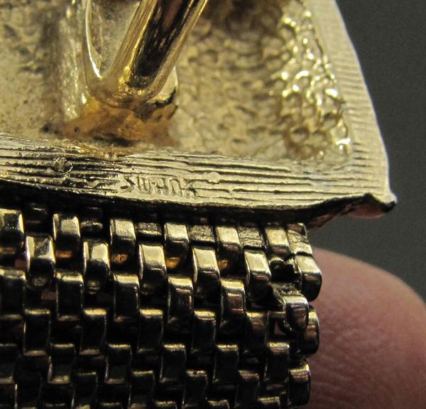 SWANK チェーン付カフスボタン,60's70'sビンテージ