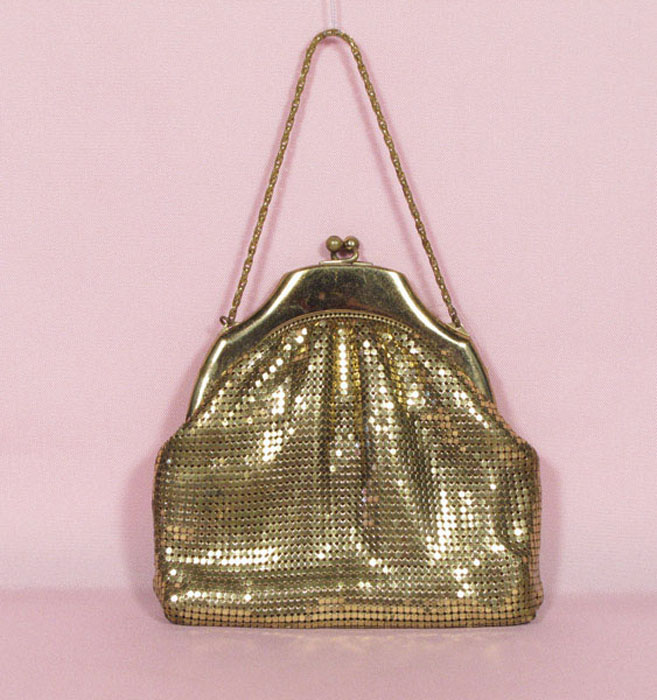 Whiting & Davis Co metal mesh bag
