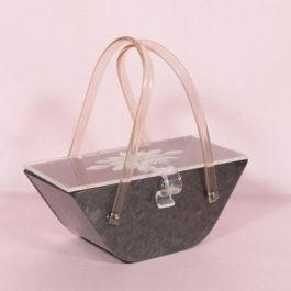 ビンテージ1950'sルーサイトハンドバッグ