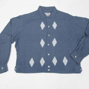 1950's1960'sビンテージレーヨンシャツ、シャツジャック、ロカビリー 1950's1960's vintage men's shirts, shirts jack, rockabilly