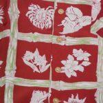 1940年代、Kamehameha、レーヨンアロハシャツ