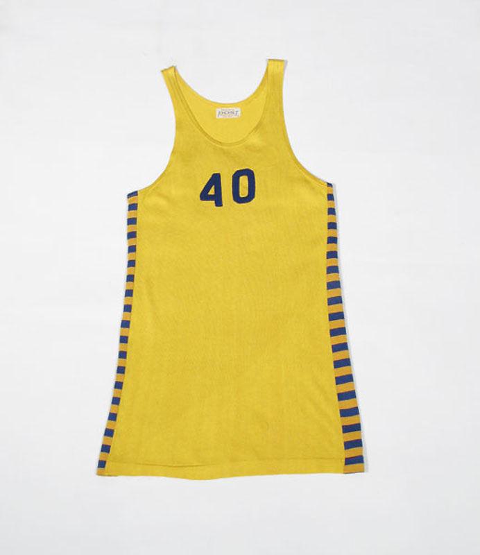 ビンテージ1960年代 バスケットボールユニフォーム