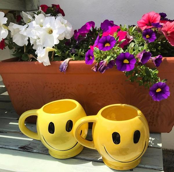 ♡♥70s Smiley Mug♥♡