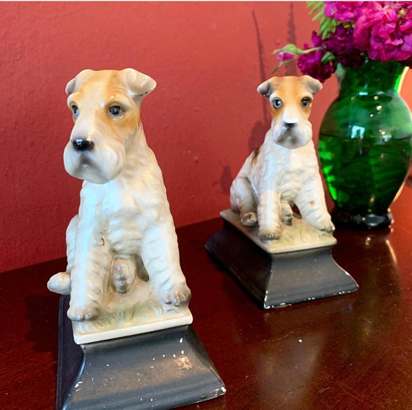 ♥50s Airdale Terrier figures♥