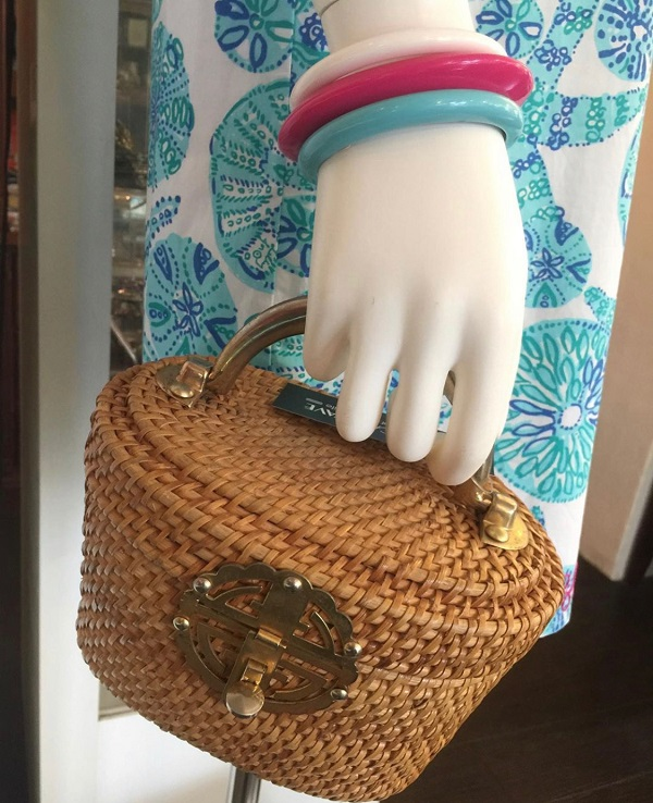 ★☆60s straw handbag☆★