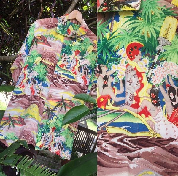 ☆★40s/50s Rayon Aloha☆★