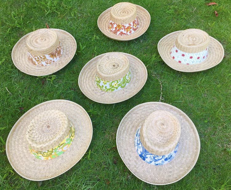 ★New arrival straw hats 1960's dead stock★