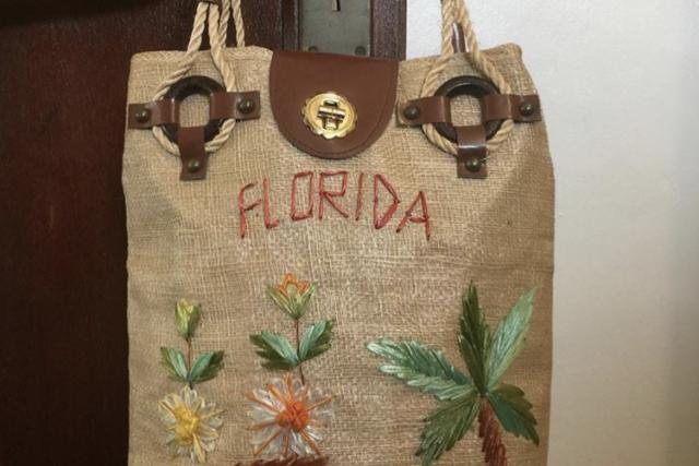 ♥1960's Florida handbag♥