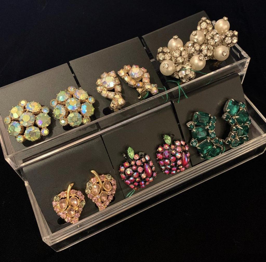 ♡♥Vintage earrings ♥♡