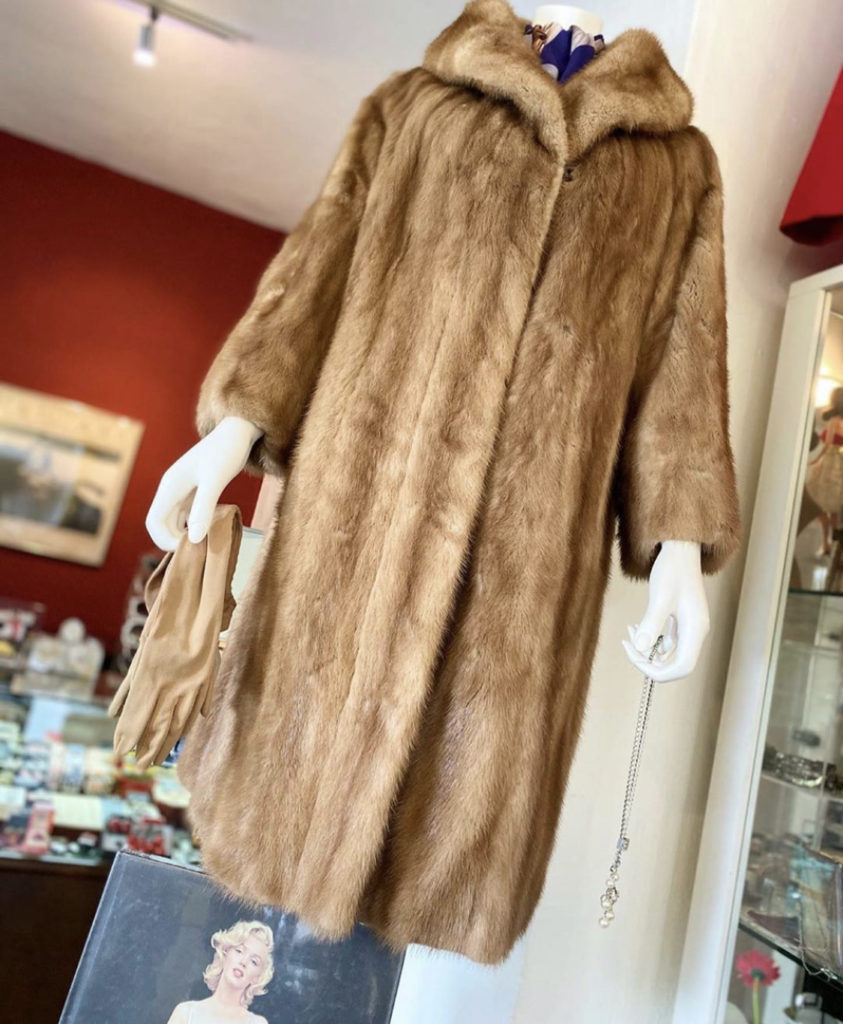 ♦Vintage Natural Ranch Mink Coat In Autumn Haze♦