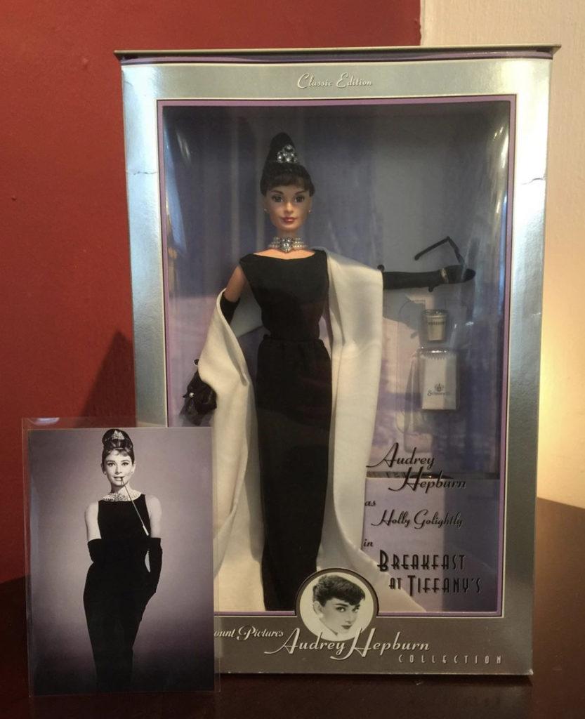 ♥Audrey Hepburn Barbie doll♥