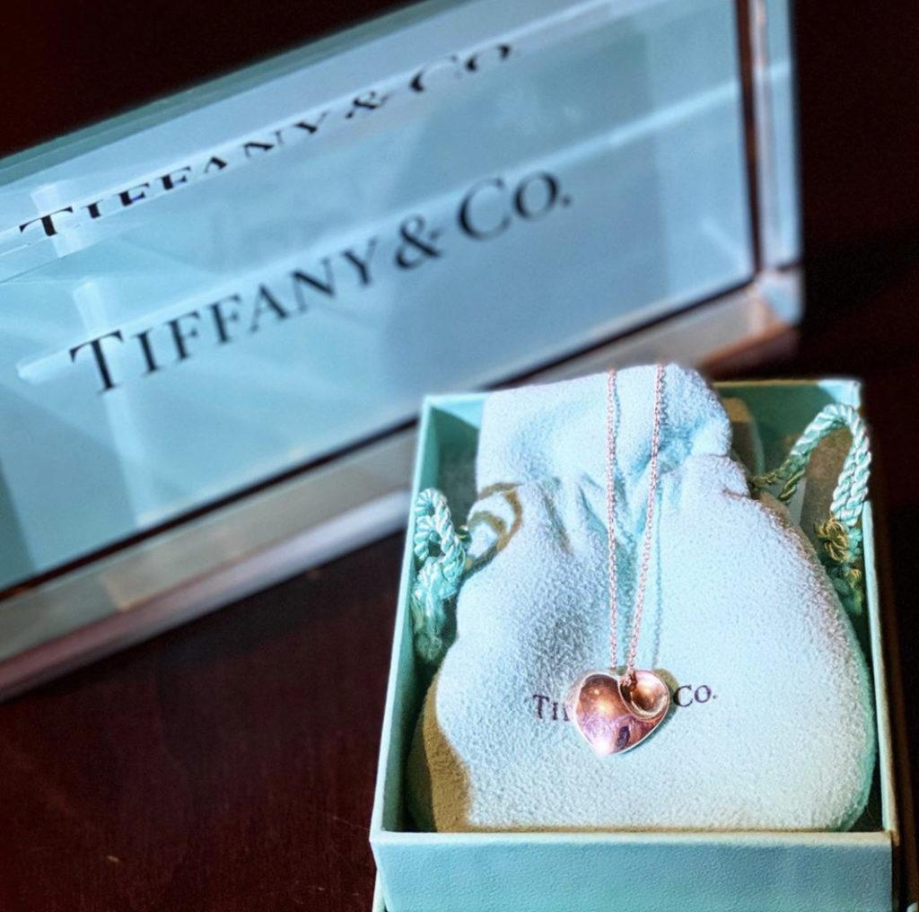 ♥Vintage Tiffany Heart Necklace♥