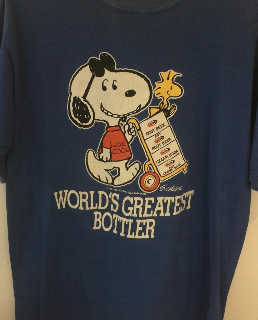 ♥70s Snoopy A&W T-shirt♥