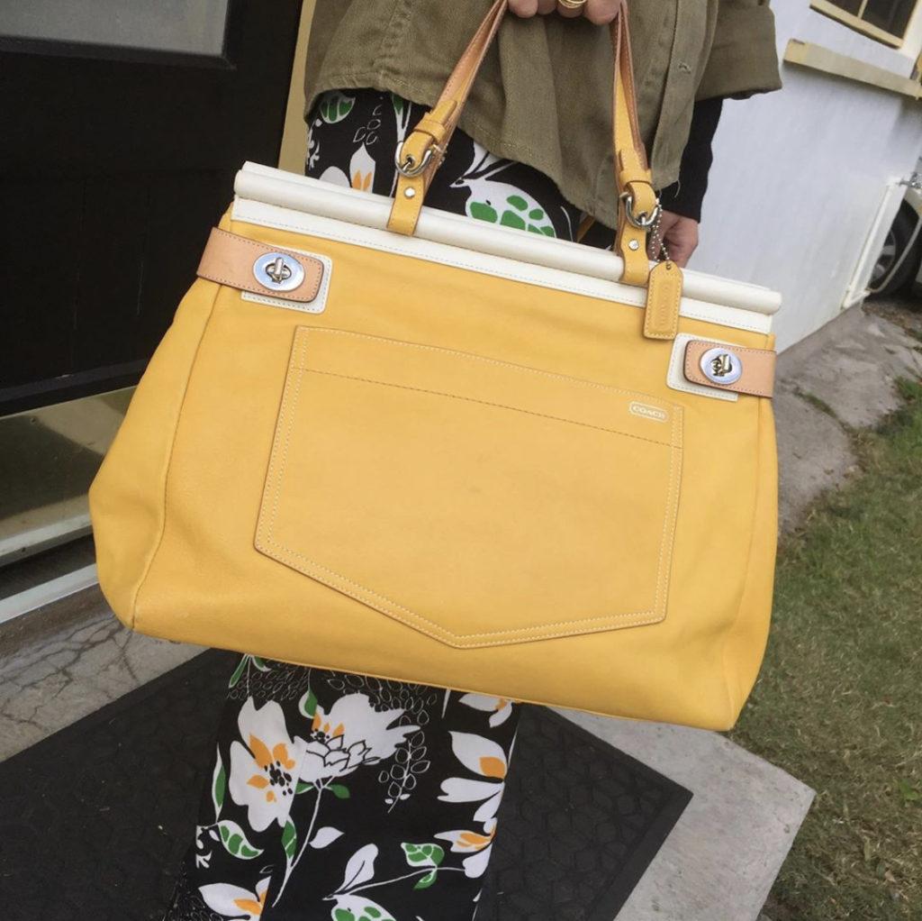 ★Sunny Yellow Coach Bag!★