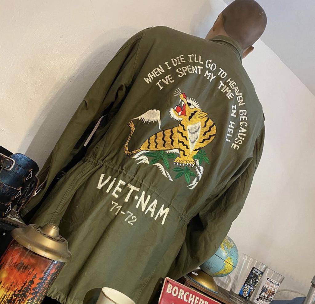 """Vintage """"Tiger"""" vetnam jacket 71-72 🐅"""