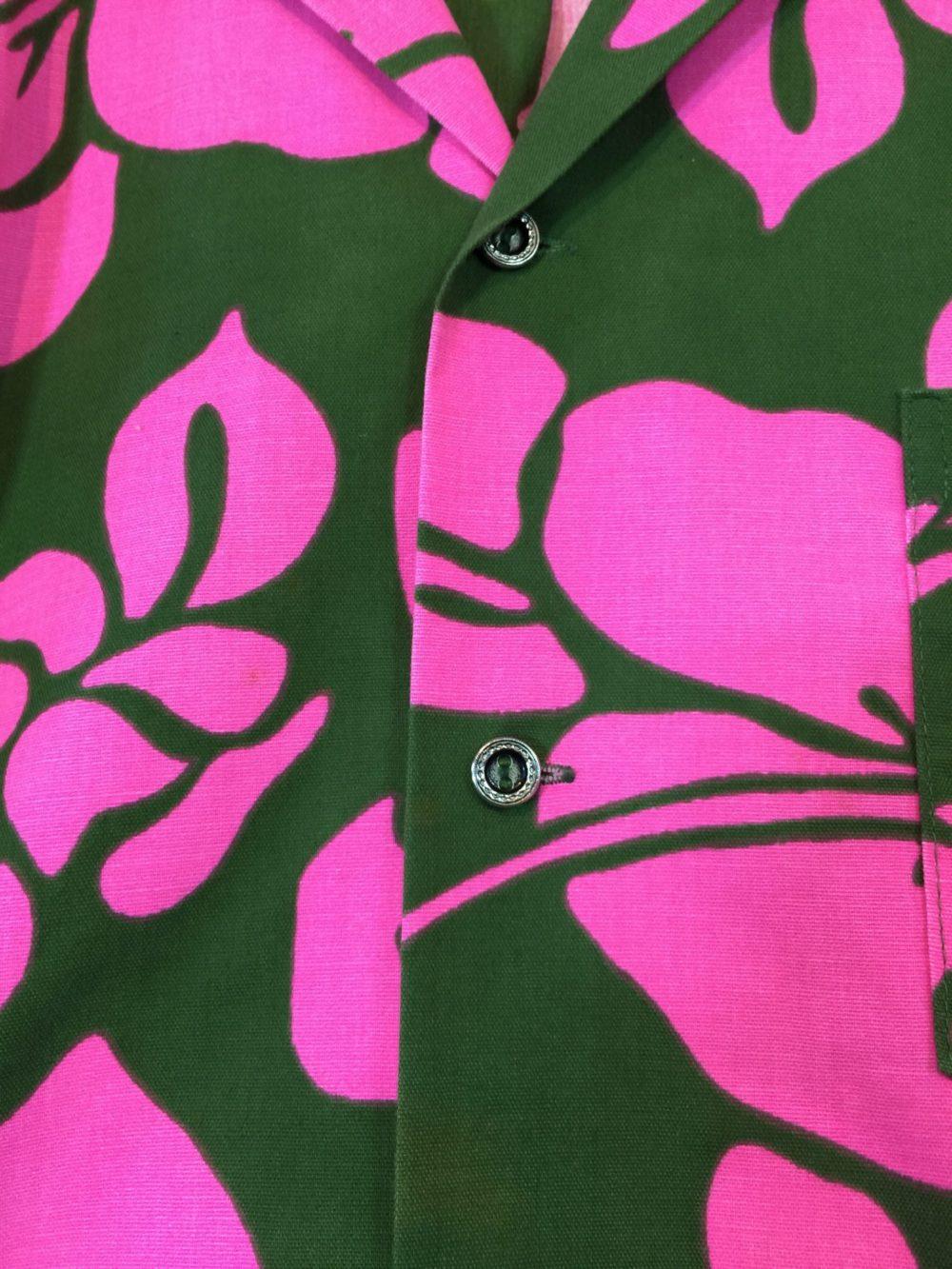 1960's ビンテージアロハシャツ Pomare Tahiti Aloha Shirts